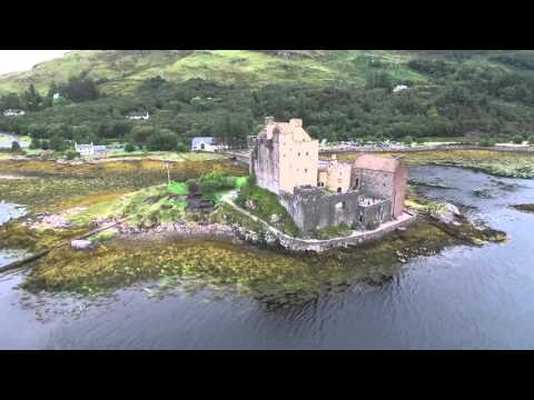Beautiful Scotland scenery from DJI Phantom 3 Pro! Follow Me and POI!