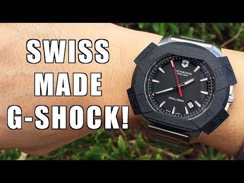 The Swiss G-Shock! Victorinox Swiss Army INOX Watch Review (241723.1) - Perth WAtch #159