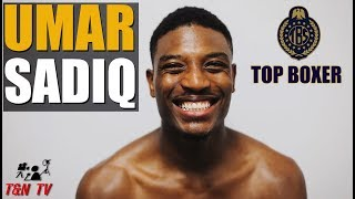 UMAR SADIQ | Post Fight On Joshua Comeback & Pacquiao Thurman prediction!