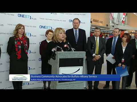 Business Community Excited for Buffalo-Albany Flights