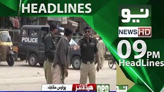 News Headlines | 09:00 PM - 16 June 2018 | Neo News HD