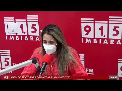 Secretária explica o processo para pessoas com comorbidades se vacinarem contra a Covid-19 em Araxá