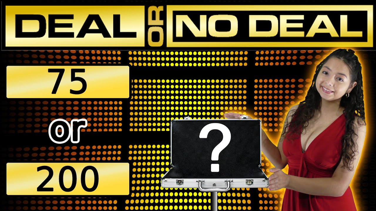 Deal or no deal arcade jackpot win arcade ticket game youtube