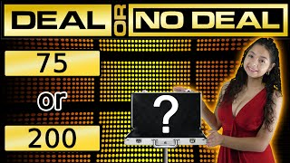 Deal or No Deal arcade JACKPOT WIN! - Arcade Ticket Game