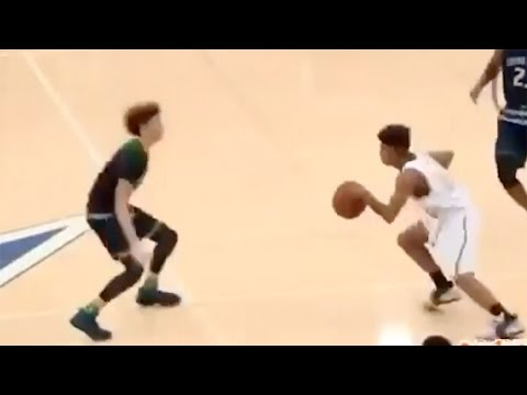 Yikes! High School Sensation Lamelo Ball Attempts to Play Defense