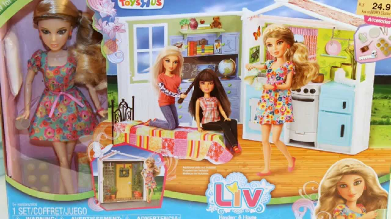 Doll House Review By Spin Master Liv Doll Hayden And