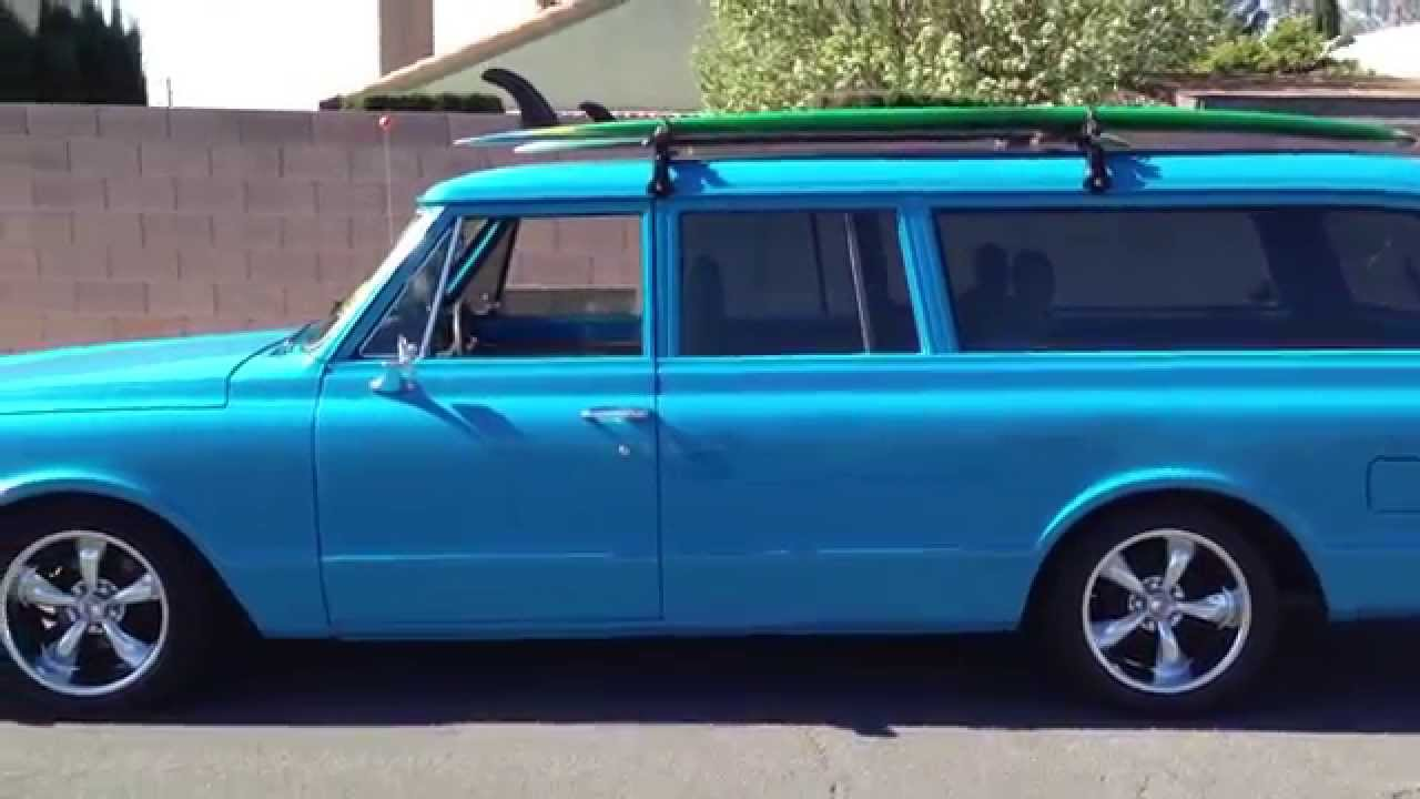 1968 Chevy Suburban Ss Package Youtube