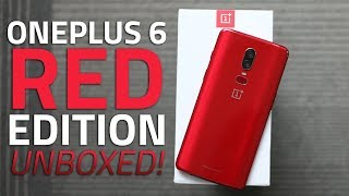 OnePlus 6 Red Edition Unboxing | What's New and What's Different?