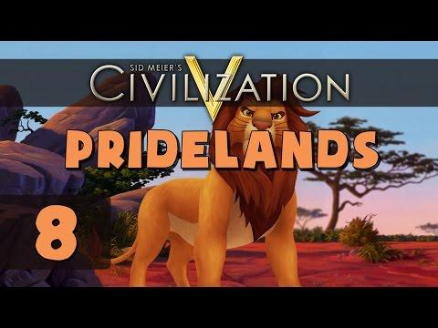 Civilization 5 Deity - Let's Play Pridelands - Part 8