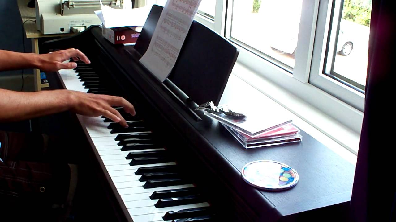 how to play bridge over troubled water on piano easy