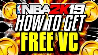 HOW TO GET FREE VC IN NBA 2K19! (NON GLITCH)