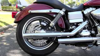 2009 Dyna Low Rider Stock Pipes vs Vance & Hines Straightshot Slip-Ons