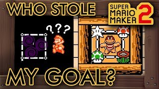 Super Mario Maker 2 - Mario Must Rescue ... the Goal?