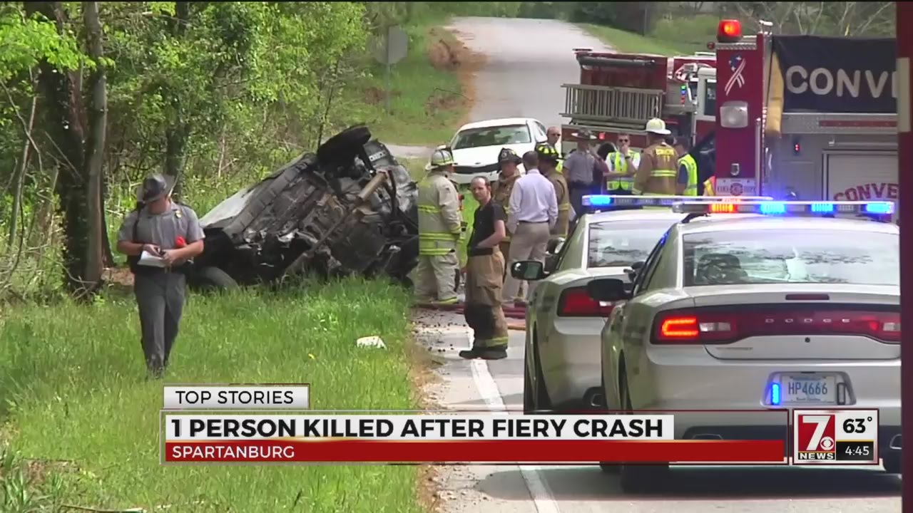 Deadly Crash In Spartanburg Co You