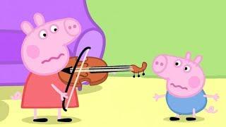 Peppa Pig in Hindi - Musical Instruments - Sangeeth - हिंदी Kahaniya - Hindi Cartoons for Kids