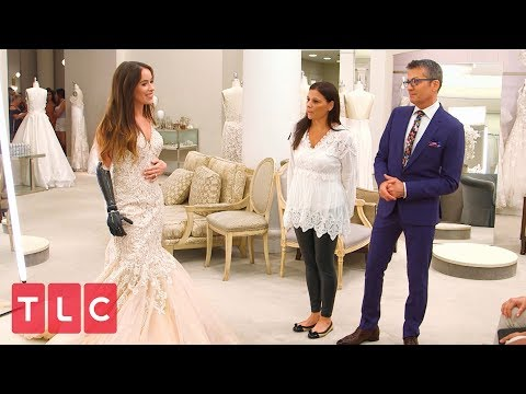 Finding the Perfect Dress for Bionic Model Rebekah Marine | Say Yes to the Dress