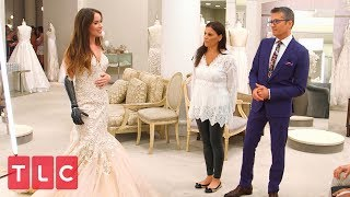 Finding the Perfect Dress for Bionic Model Rebekah Marine   Say Yes to the Dress