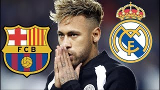 Neymar Jr Transfer Update - From PSG to Barcelona OR Real Madrid?