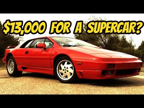 The Lotus Esprit is the Last Affordable Exotic Car