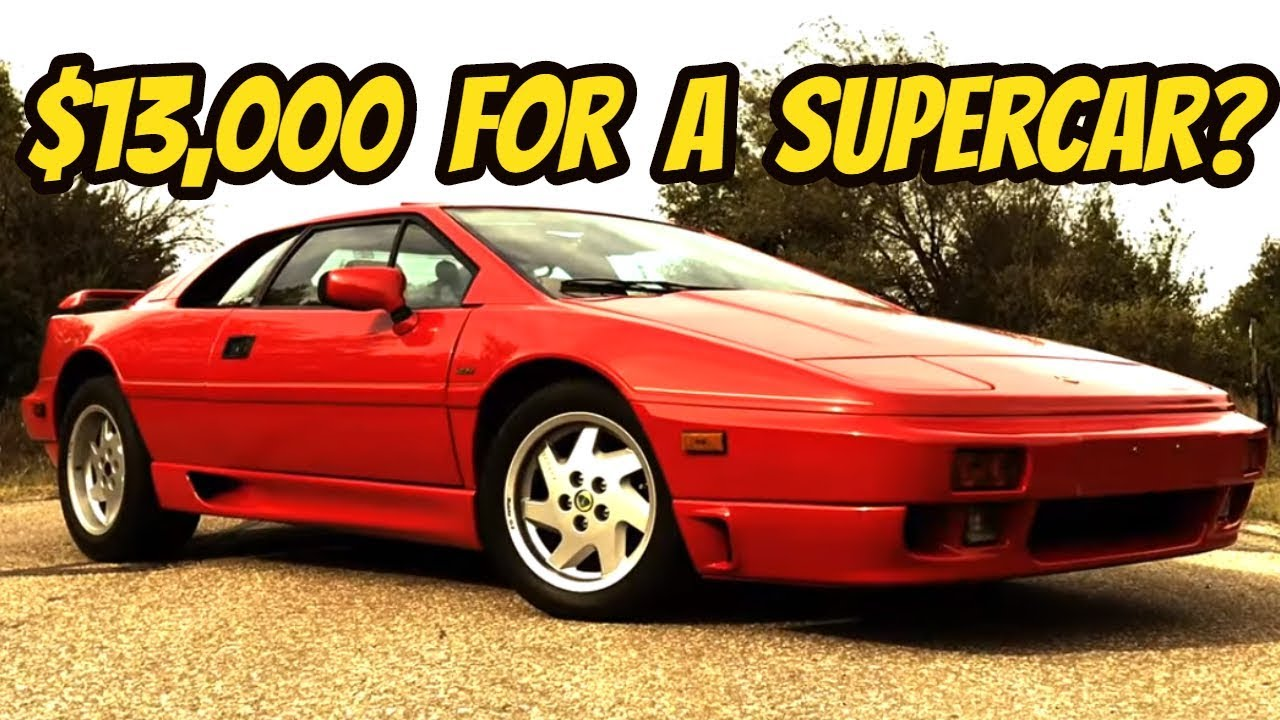 The Lotus Esprit Is The Last Affordable Exotic Car Youtube