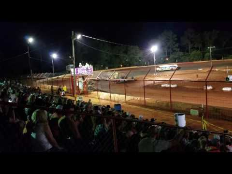 School bus races part 2 of 3 5/29/17 Flomaton Speedway