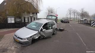 Ongeluk op Molenstraat in Waalre
