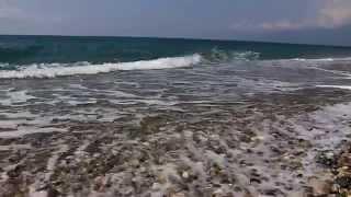 Пляж Алахадзы 31.08.2015