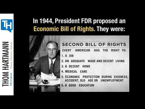 FDR Proposed an Economic Bill of Rights, Why Do We Still Not Have Them? (w/guest Nina Turner)