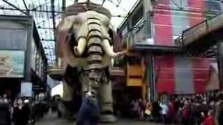 Nantes (France) et l'Eléphant en sortie