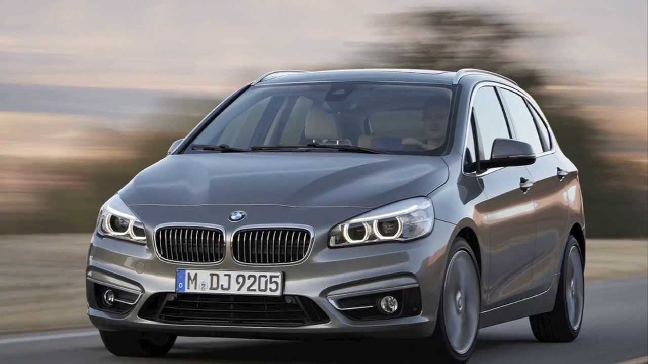 bmw 2-series active tourer - bmw u0026 39 s first mpv and first front-wheel drive car