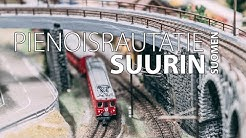 Suomen suurin pienoisrautatie - Largest Model Railway in Finland