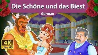 Die Schöne und das Biest - Gute Nacht Geschichte - Märchen - 4K UHD - Deutsche Märchen