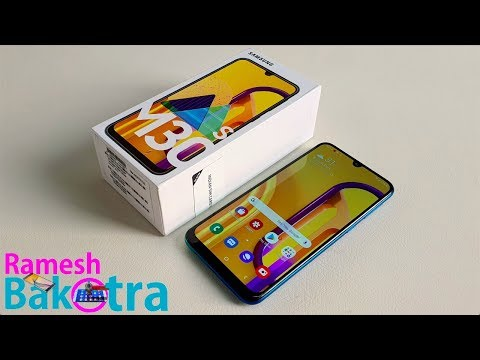 Samsung Galaxy M30s Unboxing and Full Review