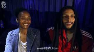 Interview with Julian Marley, 19.08.2013, Volksgarten, Vienna