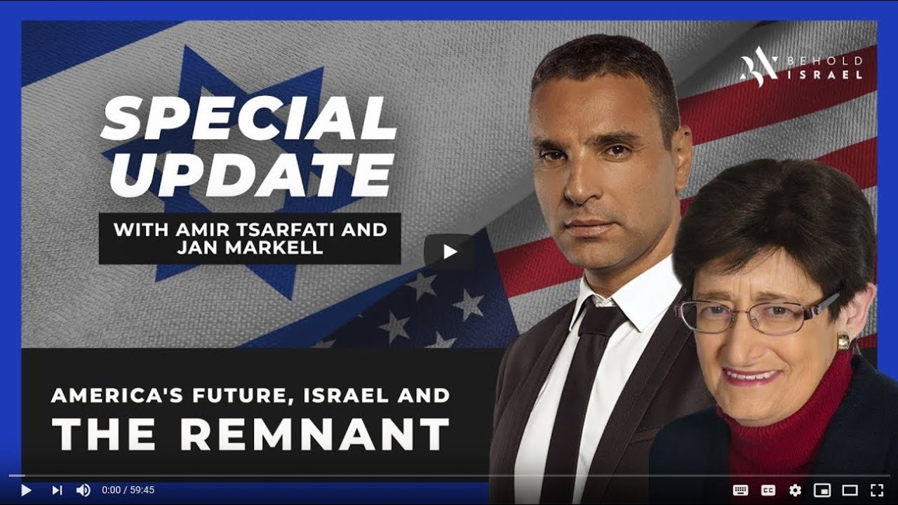 America's future, Israel, and The Remnant – Jan Markell and Amir Tsarfati