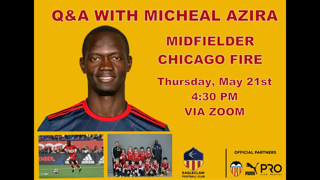 A Conversation With Micheal Azira