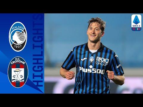 Atalanta Crotone Goals And Highlights