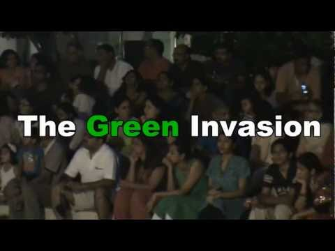 Earth Day Celebrations at GWE- The Green Invasion[See Description]