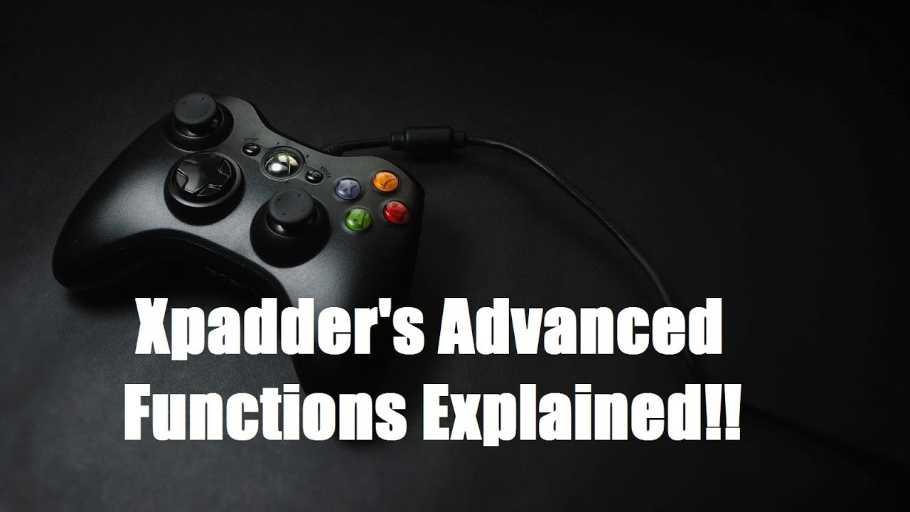 Xpadder Tutorial