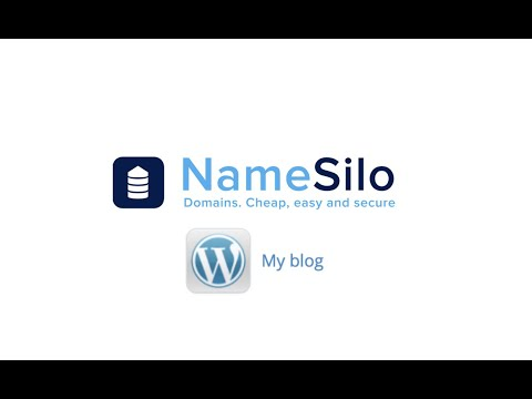 How to Create a Website on NameSilo using WordPress - YouTube