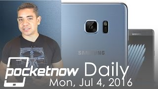 Galaxy Note 7 color option leaks, HTC Marlin specs & more - Pocketnow Daily