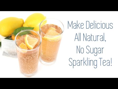 All Natural Lemon Zinger Sparkling Tea