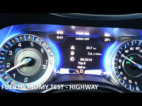 Chrysler 300 Mpg >> 2017 Chrysler 300 Fuel Economy Review Fuel Costs Youtube