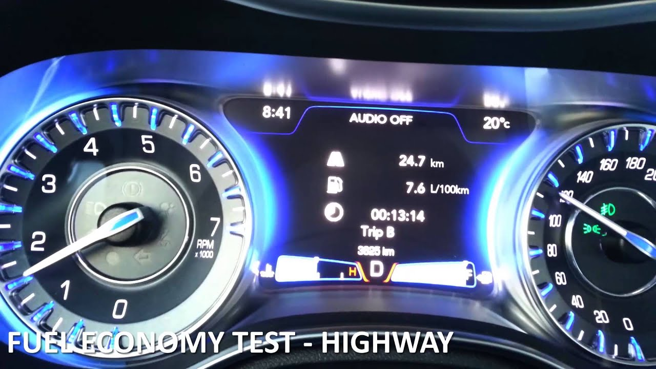 Chrysler 300 Mpg >> 2017 Chrysler 300 Fuel Economy Review Fuel Costs