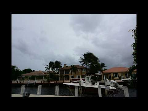 Hurricane Irma Time-Lapse - Lighthouse Point, FL