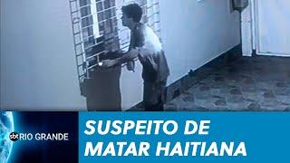Polícia divulga novas imagens de suspeito de matar haitiana - SBT Rio Grande - 14/08/19