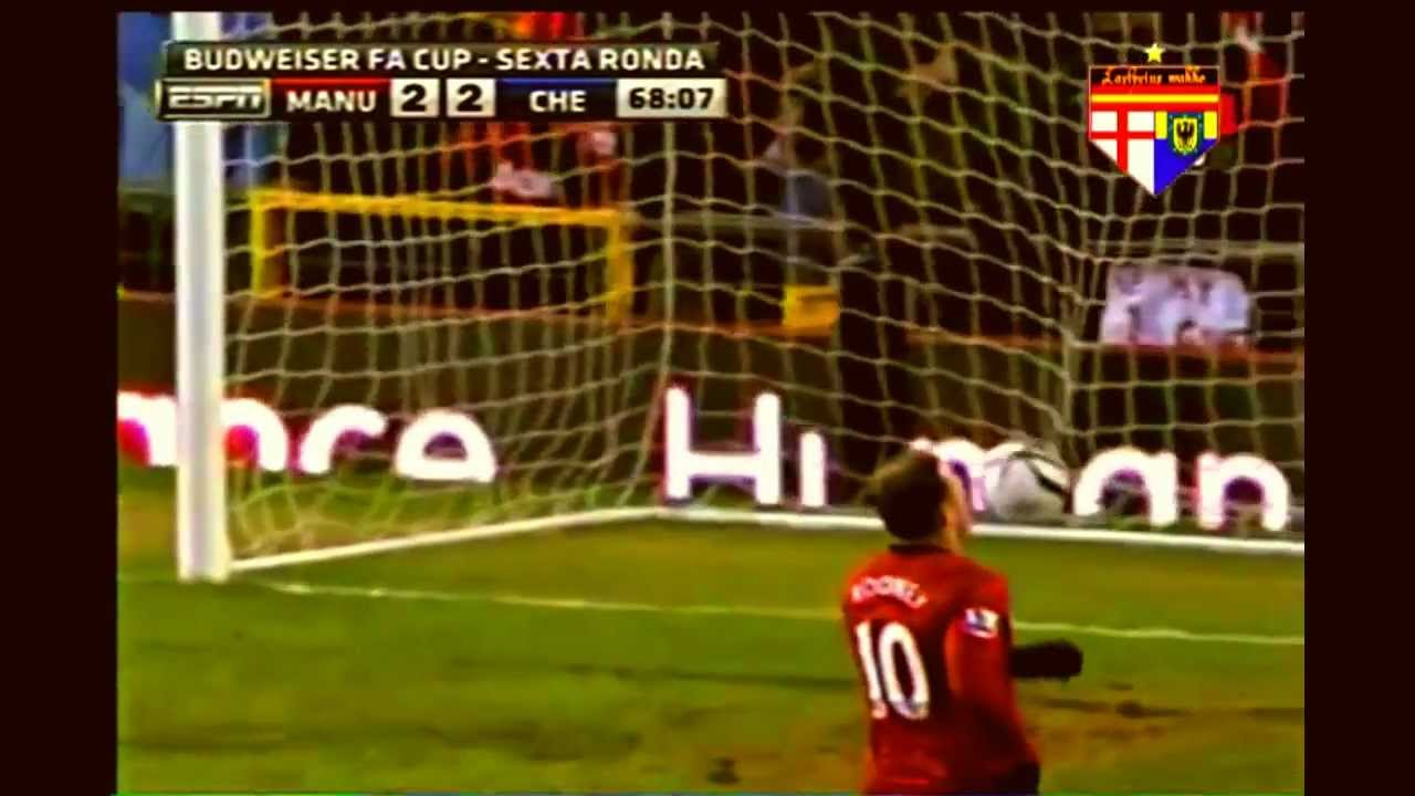 Download Manchester United Vs Chelsea 2 - 2 All Goals & Highlights 10.3.2013