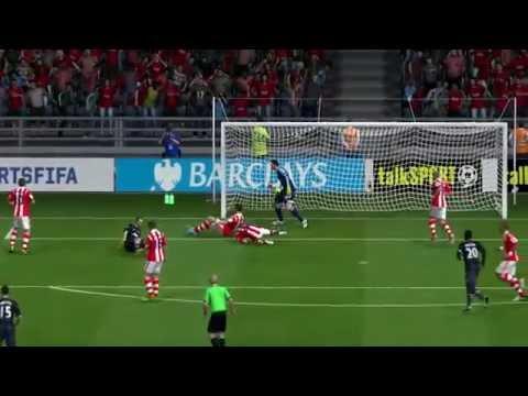 FIFA 14 Oscar de Marcos Scissor Kick Goal