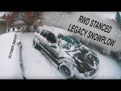 RWD SUBARU LEGACY V.S. SNOW STORM