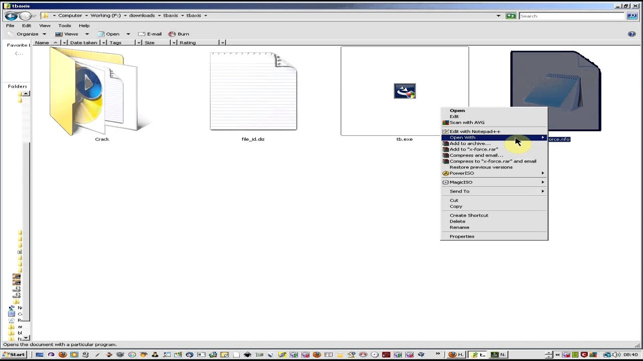 What are nfo and diz files under Windows? - Windows Bulletin